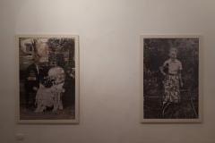 """2. Floriana Mitchell, """"Transmutation"""", 2017, pittura su fotografia."""