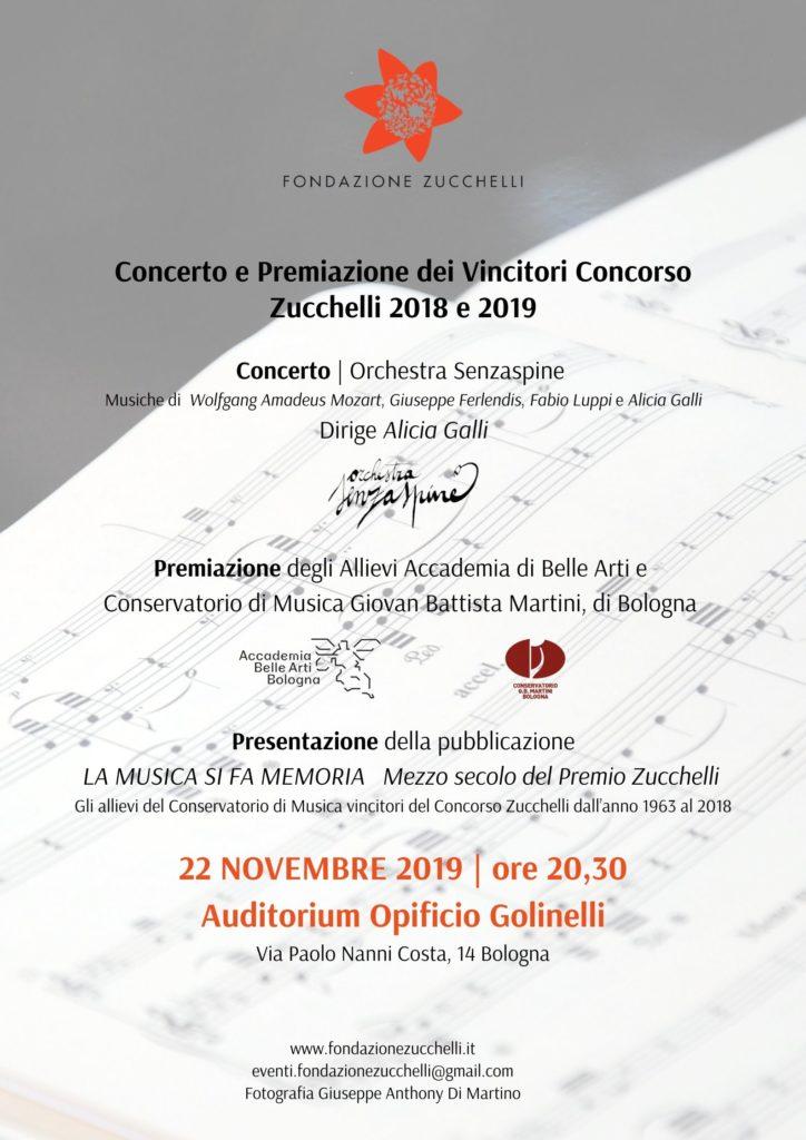 Concerto e Premiazione Concprso Zucchelli 2018 e 2019