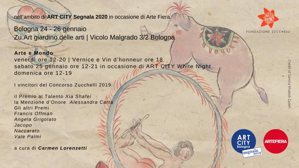 Mostra Arte e Mondo - a cura di Carmen Lorenzetti - ART CITY 2020 Bologna - Fondazione Zucchelli