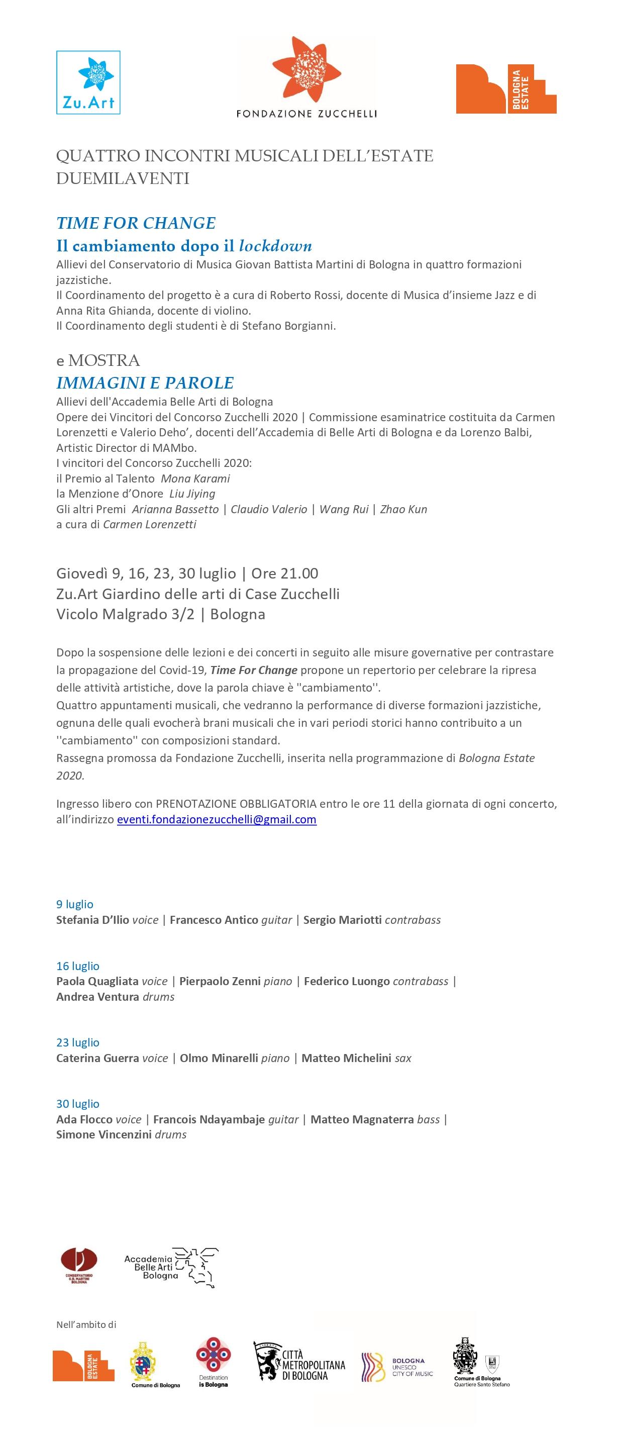 DEF1_UNITO Programma_QUATTRO CONCERTI JAZZ ESTATE 2020 _rev MT _